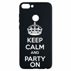 Чехол для Huawei P Smart KEEP CALM and PARTY ON - FatLine