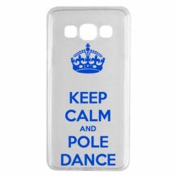 Чехол для Samsung A3 2015 KEEP CALM and pole dance