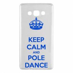Чохол для Samsung A7 2015 KEEP CALM and pole dance