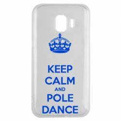 Чохол для Samsung J2 2018 KEEP CALM and pole dance