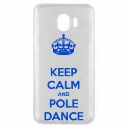 Чехол для Samsung J4 KEEP CALM and pole dance