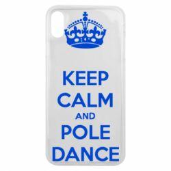 Чехол для iPhone Xs Max KEEP CALM and pole dance
