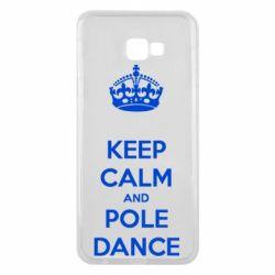 Чехол для Samsung J4 Plus 2018 KEEP CALM and pole dance