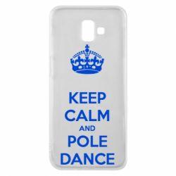 Чехол для Samsung J6 Plus 2018 KEEP CALM and pole dance