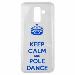 Чехол для Samsung J8 2018 KEEP CALM and pole dance