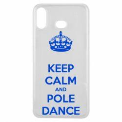 Чехол для Samsung A6s KEEP CALM and pole dance