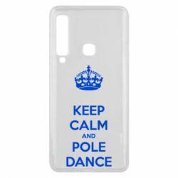 Чехол для Samsung A9 2018 KEEP CALM and pole dance