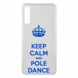 Чохол для Samsung A7 2018 KEEP CALM and pole dance