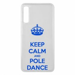 Чехол для Samsung A7 2018 KEEP CALM and pole dance