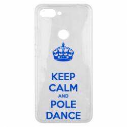 Чехол для Xiaomi Mi8 Lite KEEP CALM and pole dance