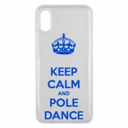 Чехол для Xiaomi Mi8 Pro KEEP CALM and pole dance