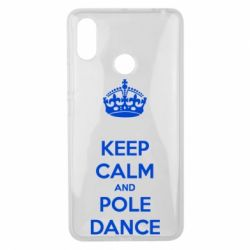 Чехол для Xiaomi Mi Max 3 KEEP CALM and pole dance