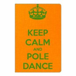 Блокнот А5 KEEP CALM and pole dance