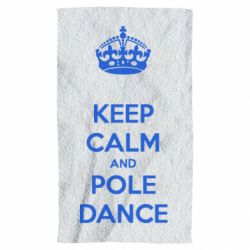 Рушник KEEP CALM and pole dance