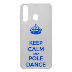 Чехол для Samsung A60 KEEP CALM and pole dance