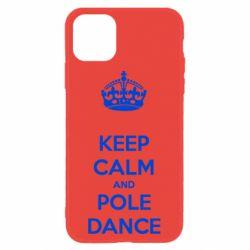 Чехол для iPhone 11 KEEP CALM and pole dance