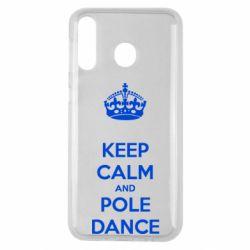 Чехол для Samsung M30 KEEP CALM and pole dance