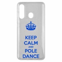 Чехол для Samsung M40 KEEP CALM and pole dance