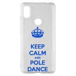 Чехол для Xiaomi Redmi S2 KEEP CALM and pole dance