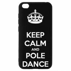 Чехол для Xiaomi Redmi Go KEEP CALM and pole dance
