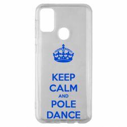 Чехол для Samsung M30s KEEP CALM and pole dance