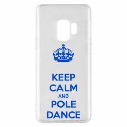 Чехол для Samsung S9 KEEP CALM and pole dance