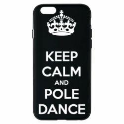 Чехол для iPhone 6/6S KEEP CALM and pole dance