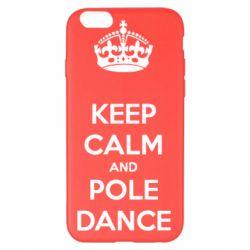 Чехол для iPhone 6 Plus/6S Plus KEEP CALM and pole dance