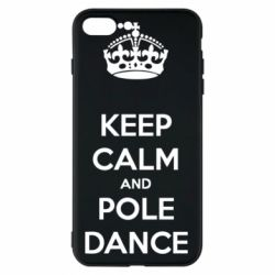 Чехол для iPhone 7 Plus KEEP CALM and pole dance