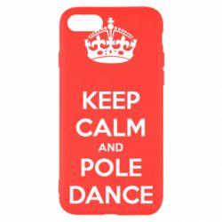 Чехол для iPhone 8 KEEP CALM and pole dance