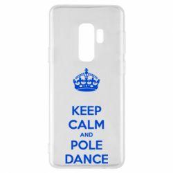 Чехол для Samsung S9+ KEEP CALM and pole dance