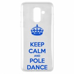 Чохол для Samsung A6+ 2018 KEEP CALM and pole dance