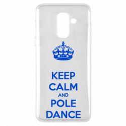 Чехол для Samsung A6+ 2018 KEEP CALM and pole dance