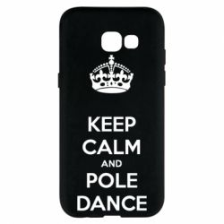 Чехол для Samsung A5 2017 KEEP CALM and pole dance