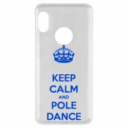 Чехол для Xiaomi Redmi Note 5 KEEP CALM and pole dance