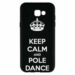 Чохол для Samsung A7 2017 KEEP CALM and pole dance