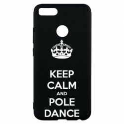 Чехол для Xiaomi Mi A1 KEEP CALM and pole dance