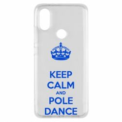 Чехол для Xiaomi Mi A2 KEEP CALM and pole dance
