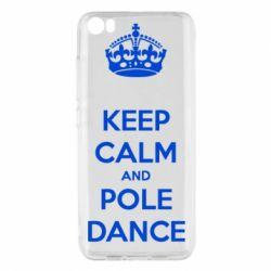 Чехол для Xiaomi Mi5/Mi5 Pro KEEP CALM and pole dance