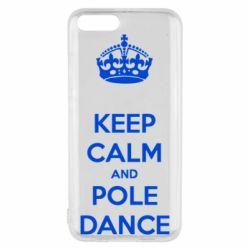 Чехол для Xiaomi Mi6 KEEP CALM and pole dance