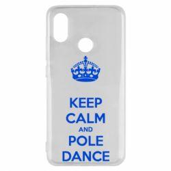 Чехол для Xiaomi Mi8 KEEP CALM and pole dance