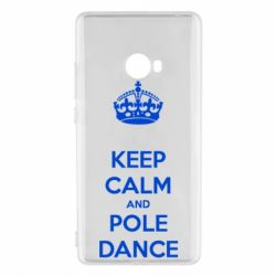 Чехол для Xiaomi Mi Note 2 KEEP CALM and pole dance