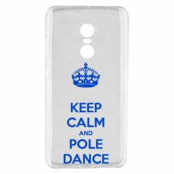 Чехол для Xiaomi Redmi Note 4 KEEP CALM and pole dance