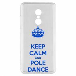 Чехол для Xiaomi Redmi Note 4x KEEP CALM and pole dance
