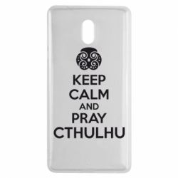 Чехол для Nokia 3 KEEP CALM AND PRAY CTHULHU - FatLine