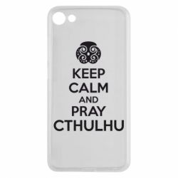Чехол для Meizu U10 KEEP CALM AND PRAY CTHULHU - FatLine
