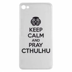 Чехол для Meizu U20 KEEP CALM AND PRAY CTHULHU - FatLine