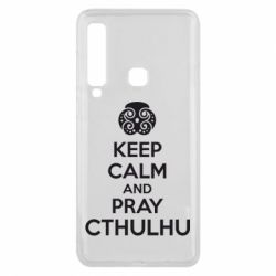 Чехол для Samsung A9 2018 KEEP CALM AND PRAY CTHULHU - FatLine