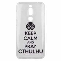 Чехол для Meizu X8 KEEP CALM AND PRAY CTHULHU - FatLine