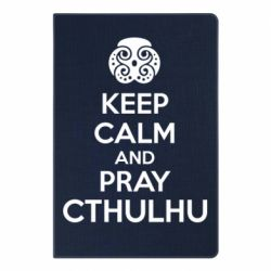 Блокнот А5 KEEP CALM AND PRAY CTHULHU - FatLine